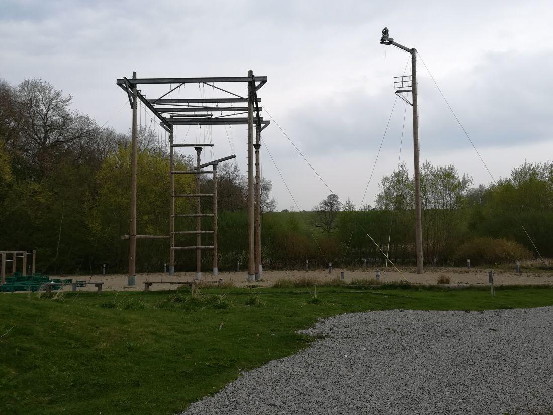inspeccion de circuito de cuerdas en altura