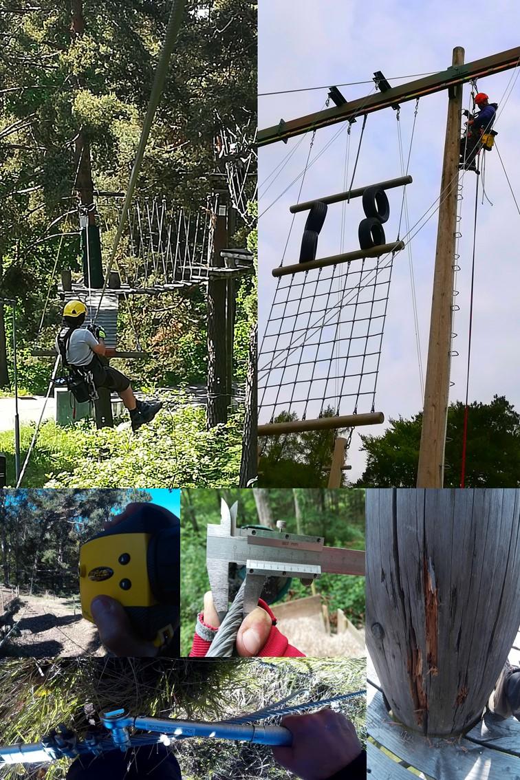inspecciones de parques de aventura