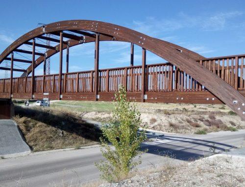 Proyecto de ingeniería para puente peatonal de madera laminada