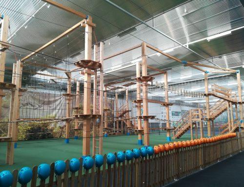Inspección de parque aventura indoor en Burgos